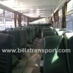 Interior Bus Besar 54 seat Non AC