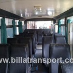 Interior Bus Mikro 27 seat Non AC