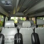 Interior Isuzu Elf 11 Seat + 1 Driver